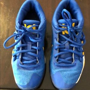 KD Youth basketball high top sneakers!